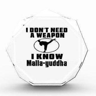 No necesito un arma que conozco Malla-yuddha