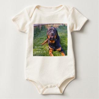 No Need for Brute Force infantwear Baby Bodysuit