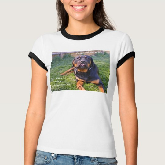 No Need for Brute Force women's tee