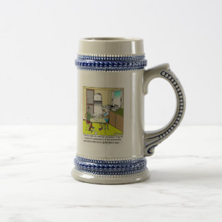No Need For Confusion on an Application Beer Stein