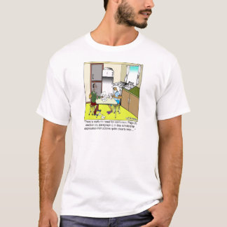 No Need For Confusion on an Application T-Shirt