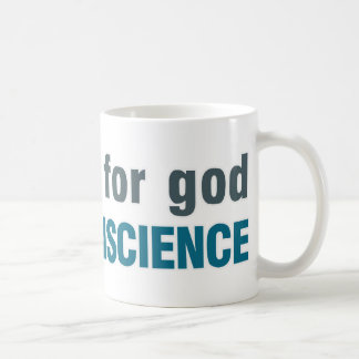 No need for god, Got a conscience Mug