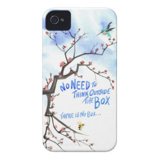 No Need to Think Outside the Box There is No Box iPhone 4 Cases