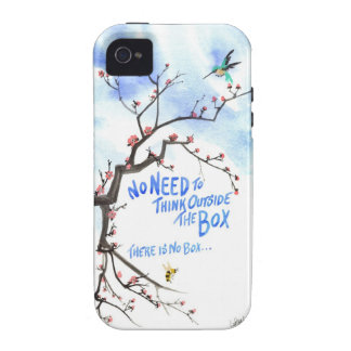No Need to Think Outside the Box There is No Box iPhone 4/4S Case