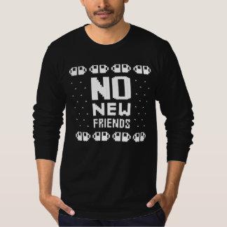 No New Friends Knit T-Shirt