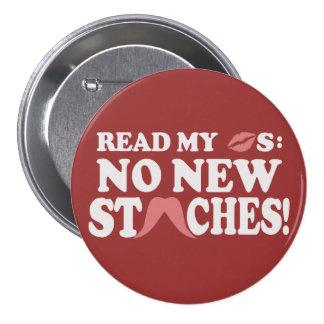 No New Staches custom button