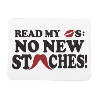 No New Staches custom magnet