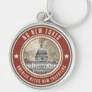 No New Taxes Keychain