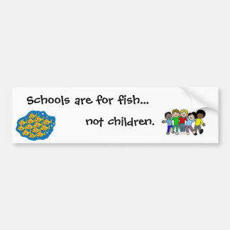 no niños etiqueta de parachoque