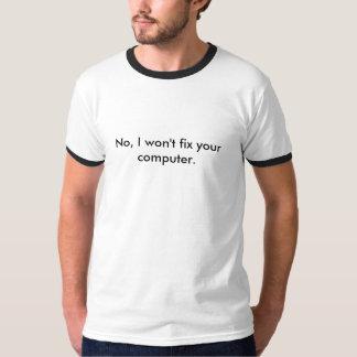 No, no fijaré su ordenador playeras