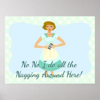 No No Nagging Smart Phone Poster