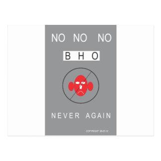 No No No BHO! Postcard