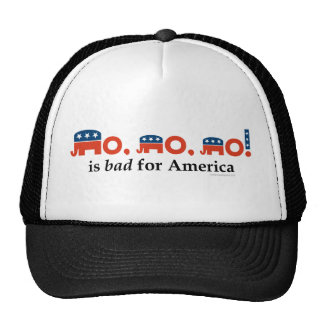 """""""No, no, no"""" Is Bad for America Trucker Hat"""
