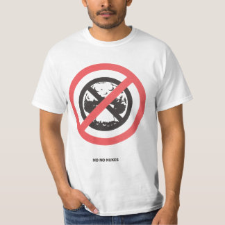 No No Nukes T Shirt