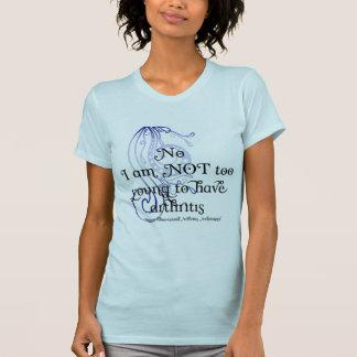 ¡No, no soy demasiado joven tener artritis! Diseño Camisetas