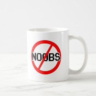 NO NOOBS - geek/hacker/pc/code monkey Coffee Mug