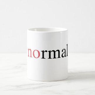 No normal taza de café