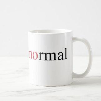 No normal tazas de café
