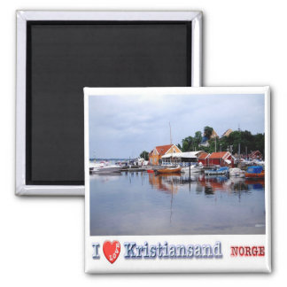 NO - Norway -  Kristiansand - I Love Magnet