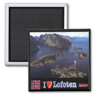 NO - Norway - Lofoten - Reine -  I Love Magnet
