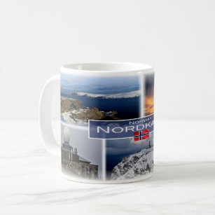 NO Norway - Nordkapp - North Cape - Coffee Mug