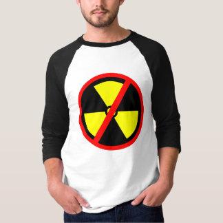 No Nuclear Anti-Nuke Symbol T-shirt