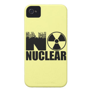 NO NUCLEAR MONO Case-Mate iPhone 4 CASE
