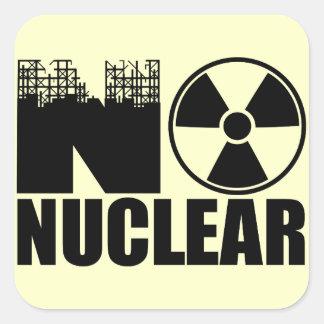 NO NUCLEAR MONO STICKERS