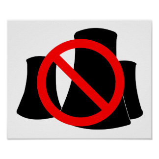 No Nuclear Power Poster