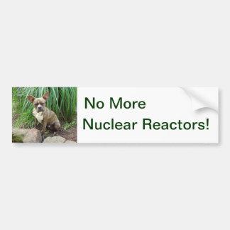 No Nuclear Reactors, Bumper Sticker
