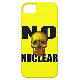 NO NUCLEAR SKULL iPhone 5 CASE