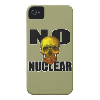 NO NUCLEAR SKULL Case-Mate iPhone 4 CASE