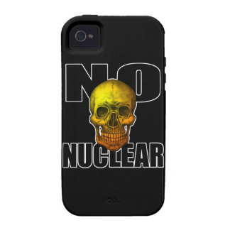 NO NUCLEAR SKULL Case-Mate iPhone 4 COVERS