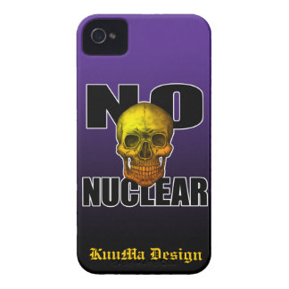 NO NUCLEAR SKULL iPhone 4 COVER