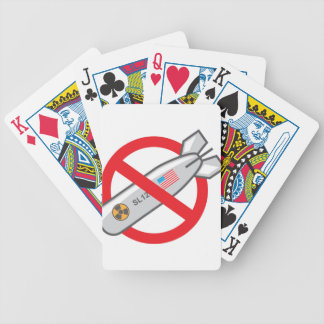 No Nuclear War Bicycle Playing Cards