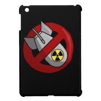 No nuclear weapons iPad mini cases