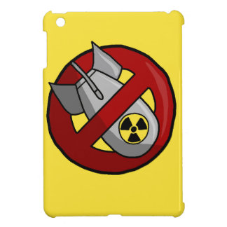 No nuclear weapons iPad mini covers