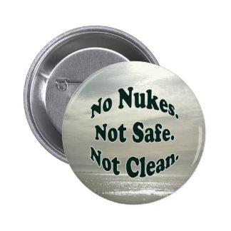 No Nukes button at the Seashore