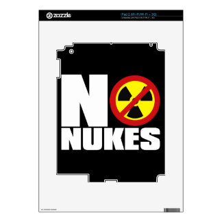 NO_NUKES DECAL FOR THE iPad 2