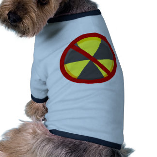No Nukes Dog T Shirt