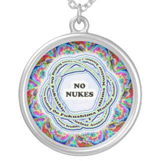 No Nukes Fukushima Atomic Necklace