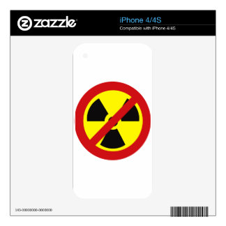 NO_NUKES iPhone 4S SKIN