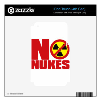 NO_NUKES iPod TOUCH 4G SKIN