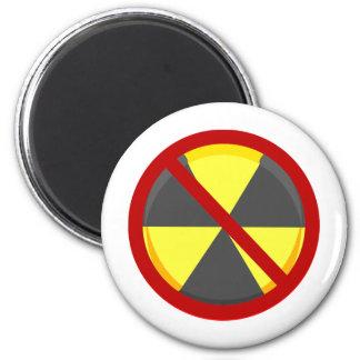 No Nukes Fridge Magnet