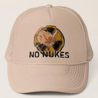 NO NUKES! NO MORE FUKUSHIMA! TRUCKER HAT