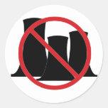 No Nukes Stickers
