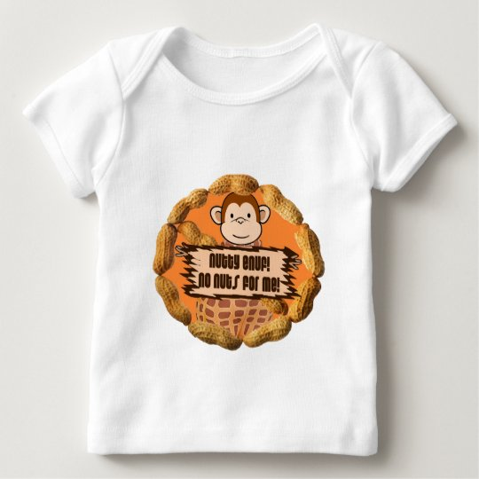 No Nuts for Me Baby T-Shirt