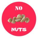 No Nuts sticker