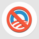 """NO """"O""""/ningún Obama Etiqueta"""