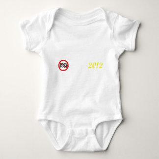 no obama 2012 baby bodysuit